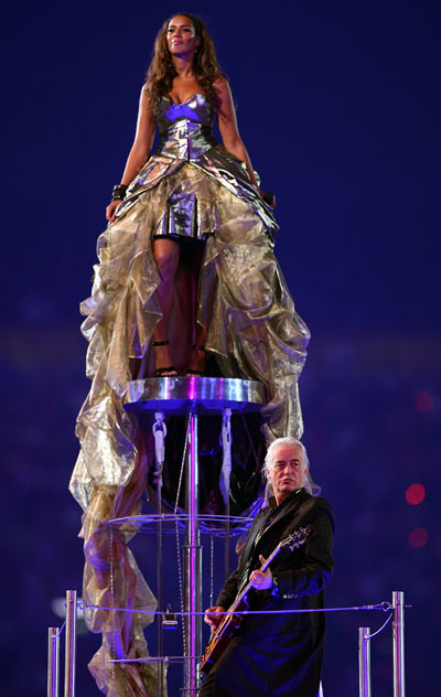 Leona Lewis and Jimmy Page