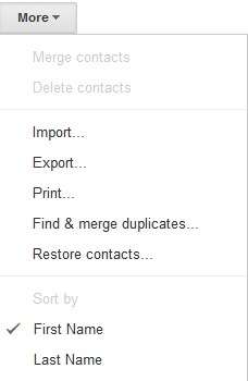 Gmail Export